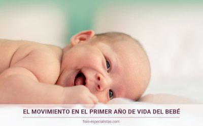 El movimiento en el primer año de vida del bebé y su importancia relacional