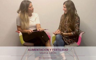 Aprendiendo con… Marta León: alimentación y fertilidad